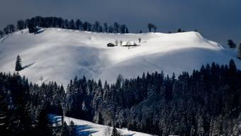 Napfbergland im Luzerner Hinterland.