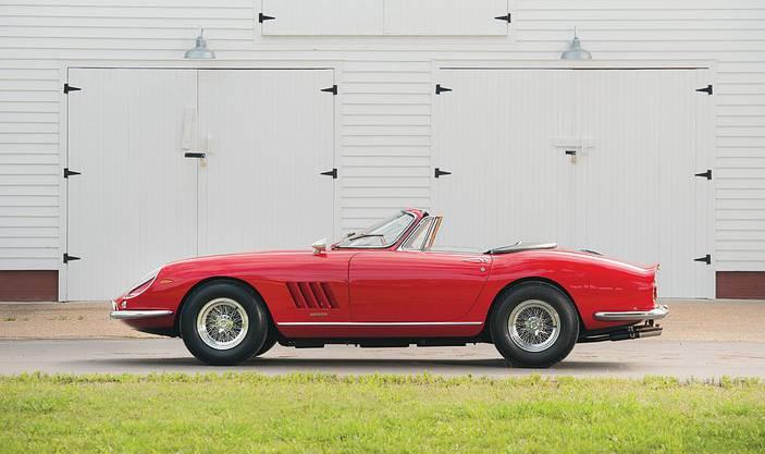 Ferrari 275 GTB/4 N.A.R.T: Nur 10 Stück wurden davon je gebaut.