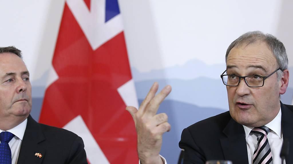 Deal oder No-Deal: Schweiz ist auf Brexit vorbereitet