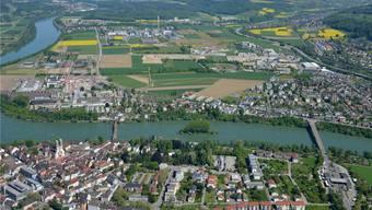 Das Sisslerfeld ist als wirtschaftlicher Entwicklungsschwerpunkt von kantonaler Bedeutung definiert. Hier planen Kanton und Gemeinden gemeinsam. Gerry Thönen