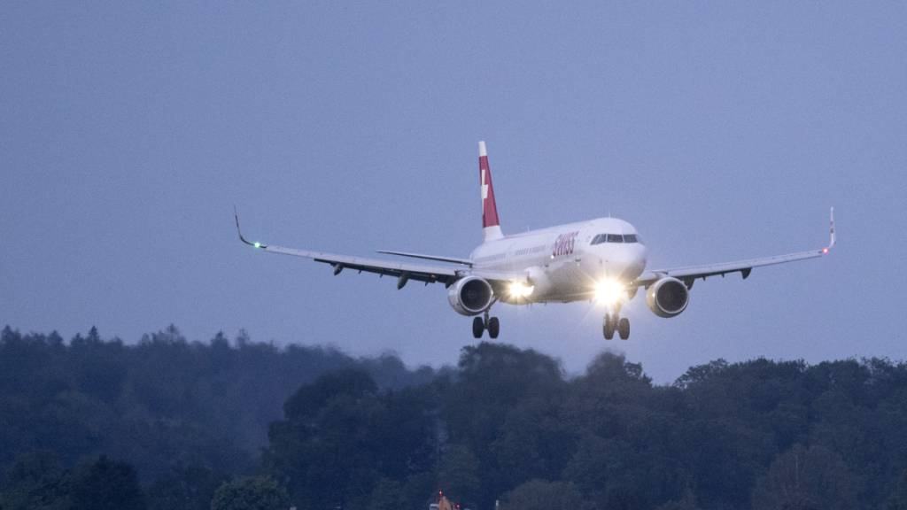 Auf Flügen werden die Passagierdaten vor der Landung in der Schweiz aufgenommen. (Symbolbild)