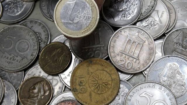 Die Deutschen glauben laut einer Umfrage, dass Griechenland aus der Eurozone fallen wird (Archiv)