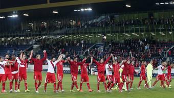 Die Schweizer Nationalspieler haben gegen Jamaika und Peru die Erwartungen erfüllt. Jetzt warten andere Aufgaben. Keystone