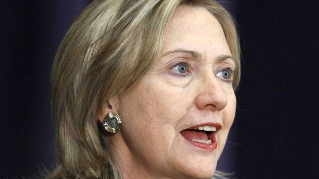 US-Aussenministerin Hillary Clinton