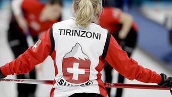 Silvana Tirinzoni hat die Übersicht auf dem Rink