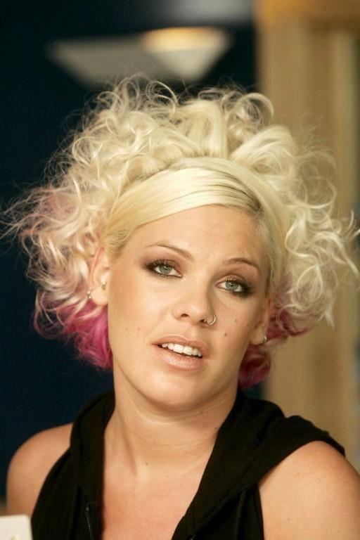Die US-Sängerin Pink