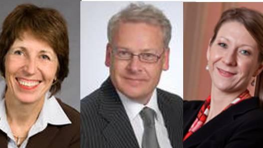 Der Verwaltungsrat: Marianne Klöti-Weber, Stefan Giger und Franziska Bur Bürgin (v.l.)