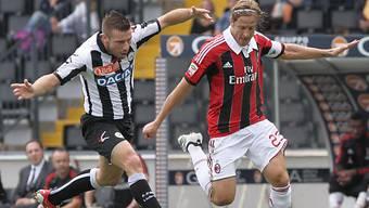 Milan verliert mit 9 Mann gegen Udinese