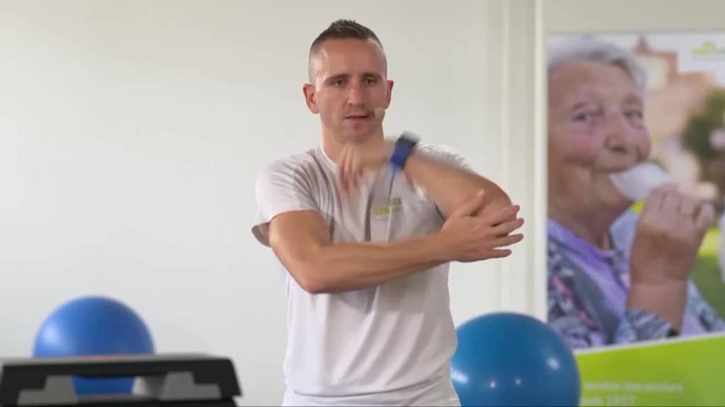 «Gymnastik im Wohnzimmer» vom 8. März 2021