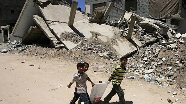 Zerstörung im Gazastreifen