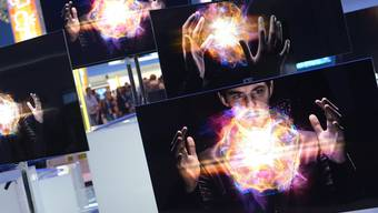 Strahlend heller Zauberschleier, tiefschwarzer Bildschirm: Das geht nur mit OLED-Technologie. keystone