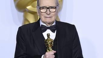 Ärgerte sich mehrmals über die Oscar-Jury: der italienische Filmmusikkomponist Ennio Morricone. (Archivbild)