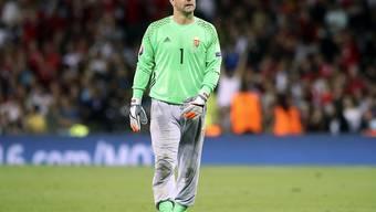 Goalie Gabor Kiraly hat seine Laufbahn für beendet erklärt