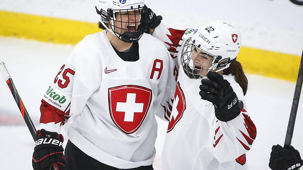 Alina Müller erzielte das Schweizer Führungstor und schied später verletzt aus