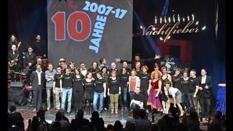 Am Samstag feierte die Late-Night-Show «Nachtfieber» ihr 10-jähriges Jubiläum. Ein Querschnitt durch das Programm.