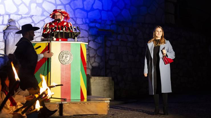 Die «Cordula» 2019 heisst Nina Katharina Wüthrich – sie nahm die Ehrungen vor.