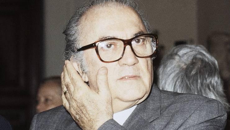 """21 Jahre nach seinem Tod ehren die Filmfestspiele Venedig Federico Fellini mit einer Wiederaufführung von """"Amarcord"""" (Archiv)"""
