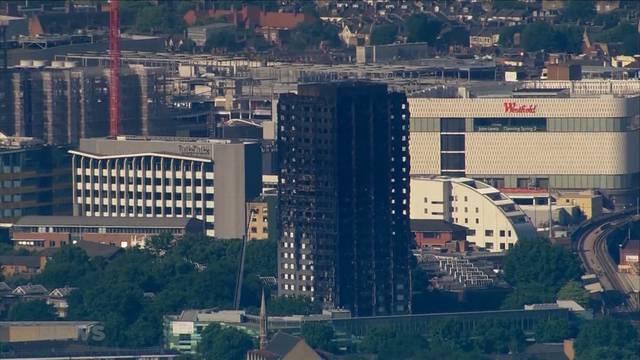 Brand in London: Opferzahl wird noch ansteigen