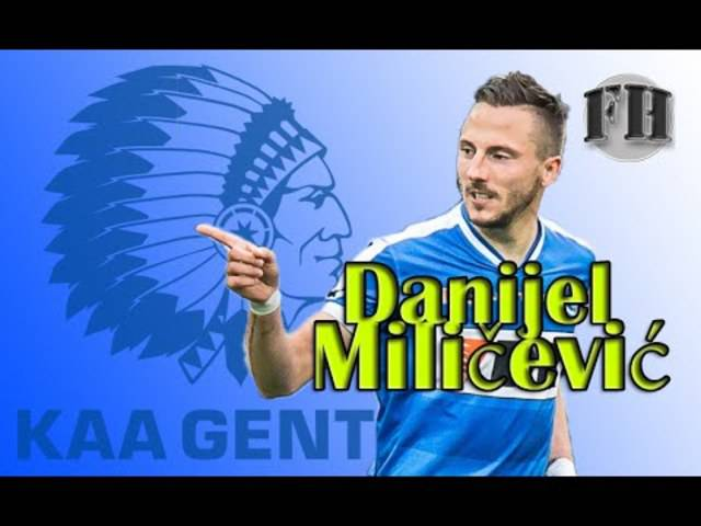 Alle Tore von Danijel Milicevic für Gent in der Saison 2014 / 2015