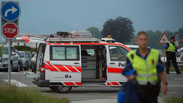 Das tödliche Unglück passierte in der Nähe des Flughafens Locarno-Magadino.
