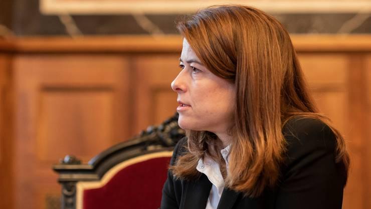 Hat die Mitgliederbefragung angestossen: FDP-Chefin Petra Gössi.