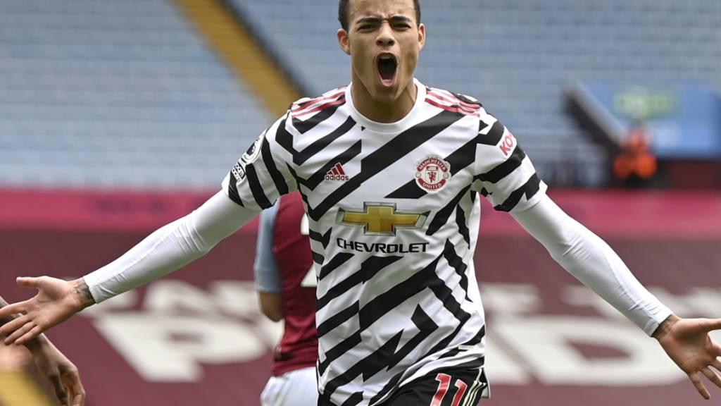 Manchester United festigt Platz 2