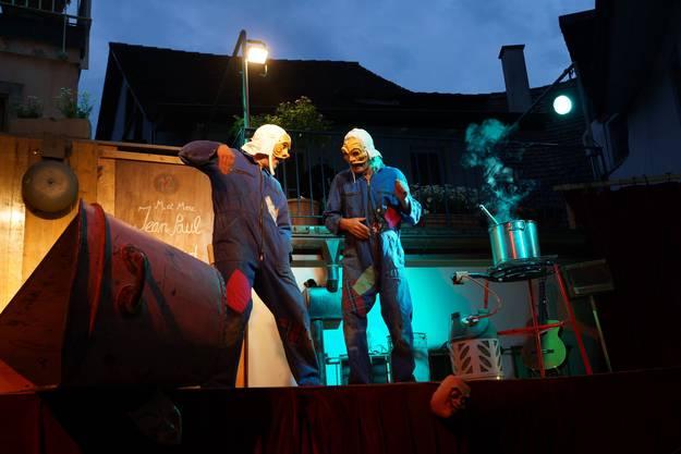 Das Maskentheater Paella Komplott ist eine Hommage an die italienische Commedia dell'arte (ub)4