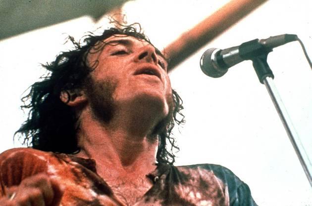 1969 am legendären Woodstock-Festival