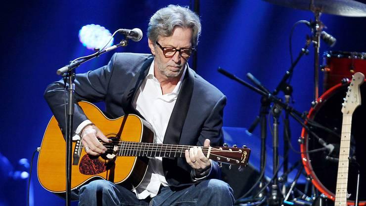 Eric Clapton tritt gleich zweimal auf: am 13. und 14. November .
