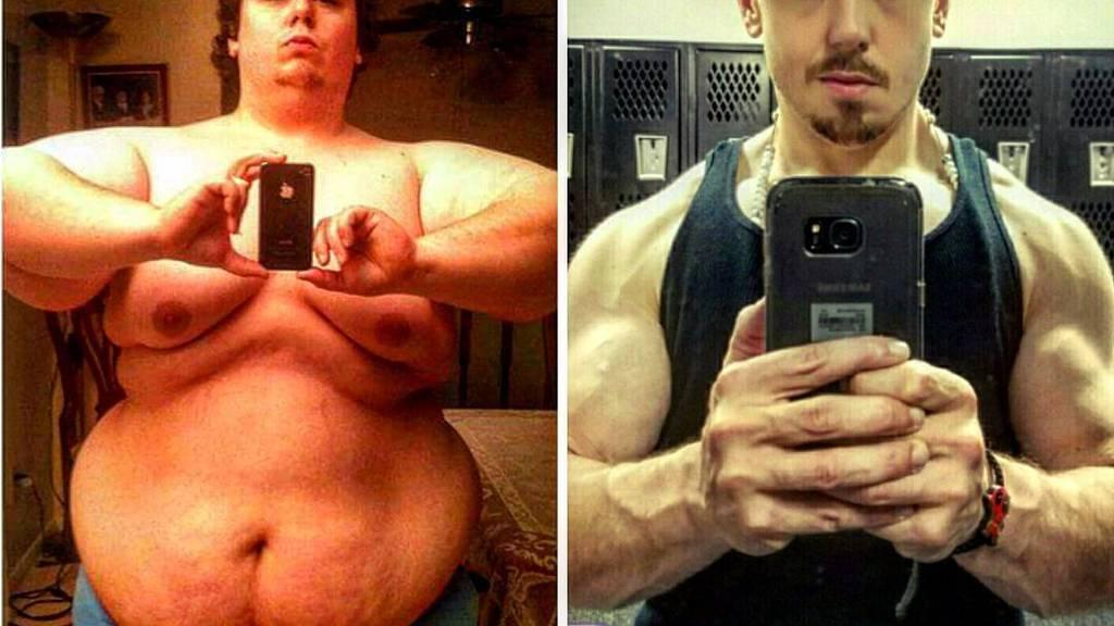 Insgesamt 111 Kilogramm hat Luis Trigo abgenommen.