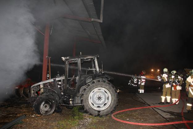 Brand in Tegerfelden