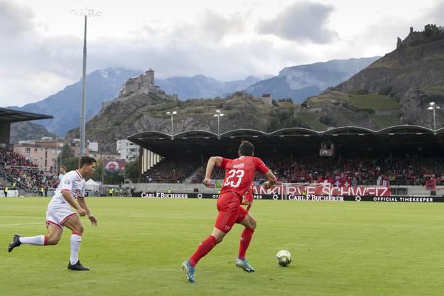 Die Schweiz hat in der zweiten Halbzeit einen Gang runtergeschaltet.