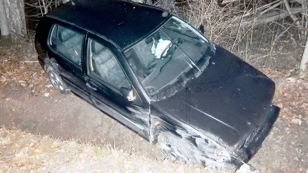 Autofahrerin verunfallt mit fast 1,8 Promille