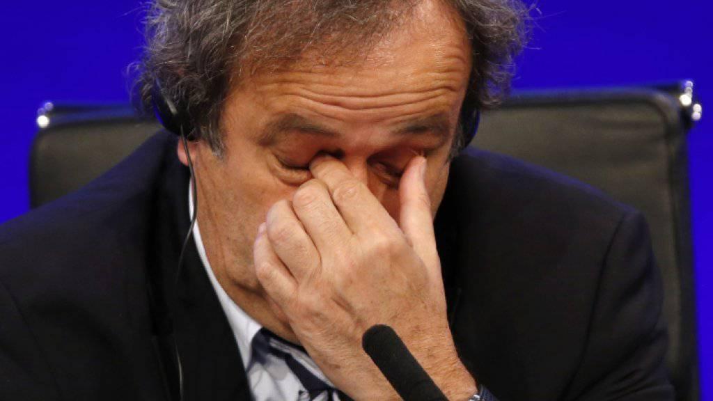 Etwas Entlastung für Michel Platini