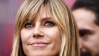 """Heidi Klum """"macht die 20 Jahre voll"""": Das deutsche Model wird für weitere sechs Jahre die Castingsendung """"Germany's next Topmodel"""" präsentieren. (Archivbild)"""