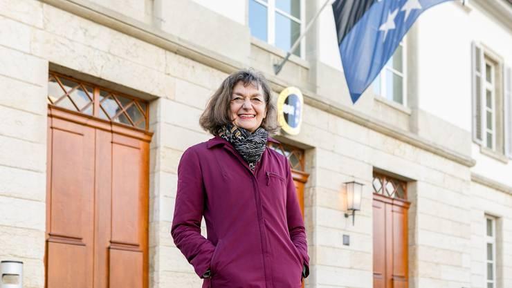 Am 7. Januar wird Edith Saner (CVP) aus Birmenstorf zur Präsidentin des Aargauer Grossen Rates gewählt.