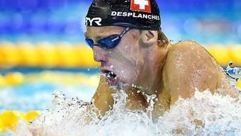 Jérémy Desplanches stellt in Dubai zwei Schweizer Rekorde auf