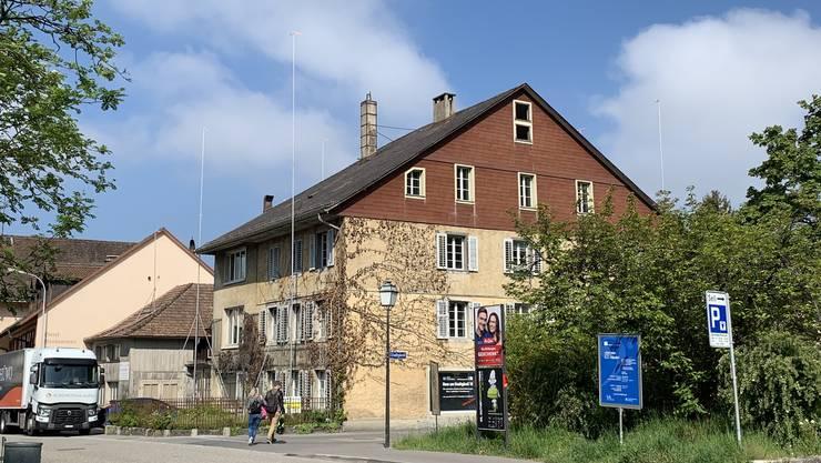 Seit Jahren unveränderte Situation bei der ehemaligen Schreinerei Hächler.