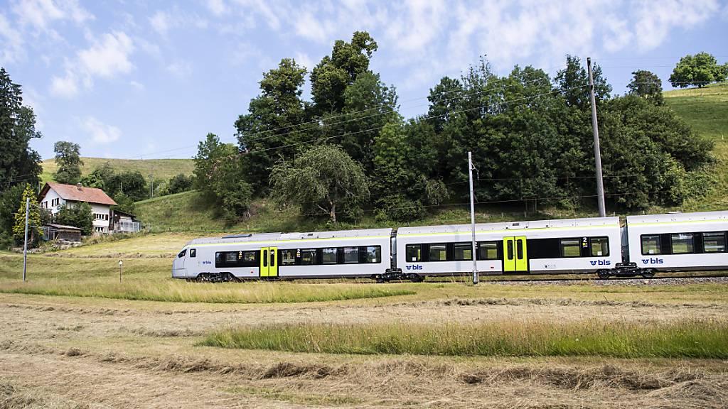 Die Züge des Ostschweizer Zugbauers Stadler sind auch im Emmental unterwegs. (Archivbild)
