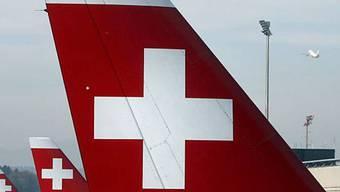Seitenleitwerk einer Swiss-Maschine