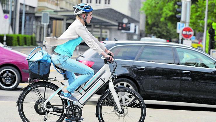 E-Bikes sind auf Basler Strassen immer häufiger in Unfälle verwickelt. (Symbolbild)