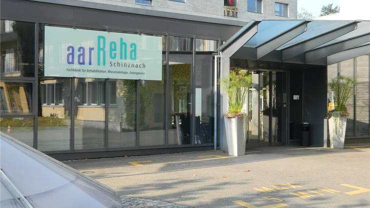 Mehr als 34500 Pflegetage verzeichnete die aarReha in Schinznach-Bad im Jahr 2015. ZVG