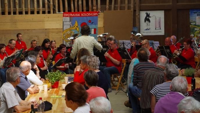 Stadtmusik auf dem Rosegghof