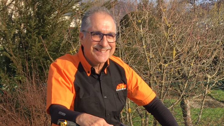 Thomas Steinmann vom BadCat Racing Team Frenkendorf