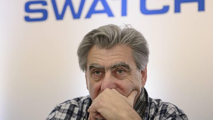 Swatch-Gruppen-Chef Nick Hayek