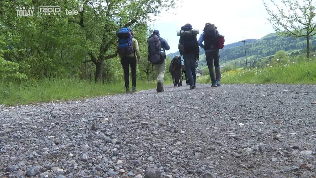 Von Sörenberg bis nach Küssnacht: Jugendliche alleine auf dem «Heiwäg»