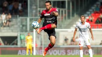 Auch mit 35 Jahren hat Raphaël Nuzzolo nichts von seiner Dynamik eingebüsst.