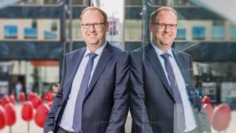 Simon Burger am Bahnhof Aarau: Er schaffte es nicht, für die SVP den Stadtratssitz zu halten.
