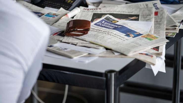 Die Schweizer Medien verzeichneten in der Krise einen Anstieg der Nachfrage, aber nicht der Einnahmen. (Symbolbild)
