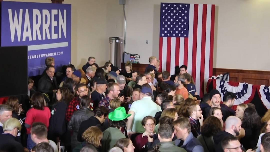 Chaos-Vorwahl bei Demokraten - keine Ergebnisse aus Iowa